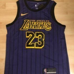 NWT Lebron James #23 Lakers City Jersey